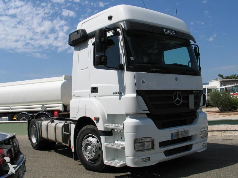 Mercedes Truck un camion pour femme