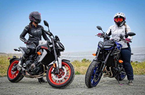Accessoire femme moto